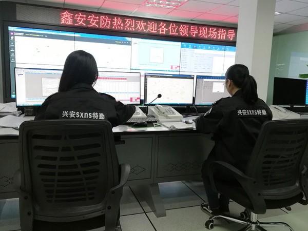 陕西鑫安安防视频监控室/机房
