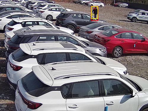 AI视频分析监控系统在汽车4S店的应用方案,能报警就是不一样!