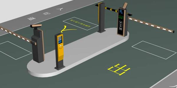 无人值守停车场系统