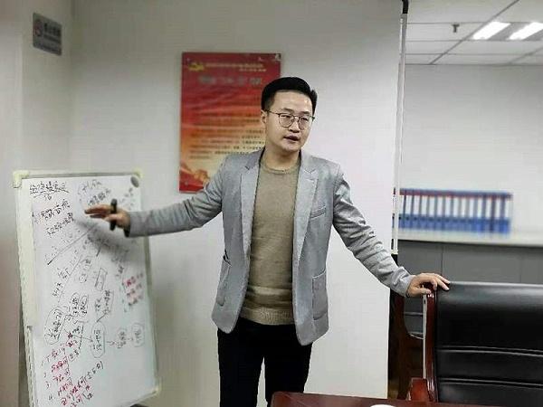 杨兵兵老师到陕西鑫安安防赋能指导