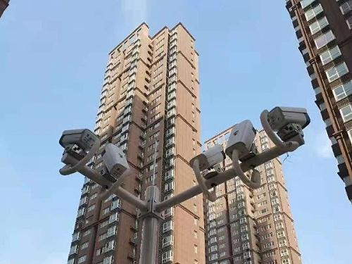 小区视频监控系统线路是如何铺设的?