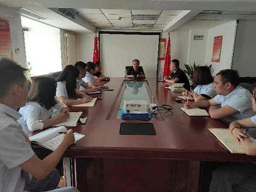 陕西鑫安安防销售客服培训会议,销售是一个系统
